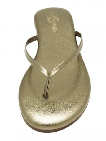 Roee Leather Sandals - Bronze