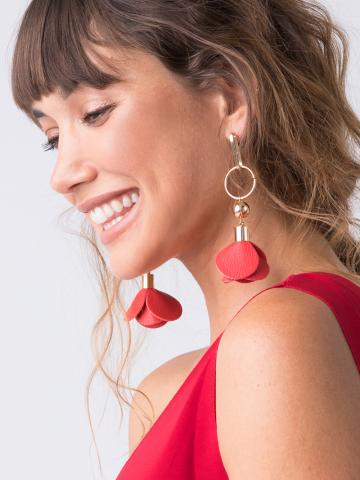 Petals Of Promise Earrings - Gold