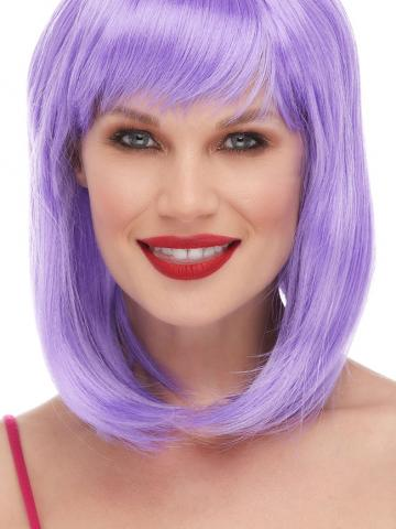 Lavender Dolled Up Wig by West Bay - Yandy.com